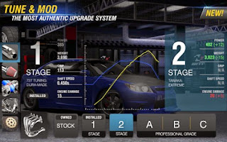 Screenshots of the Racing Rivals for Android tablet, phone.
