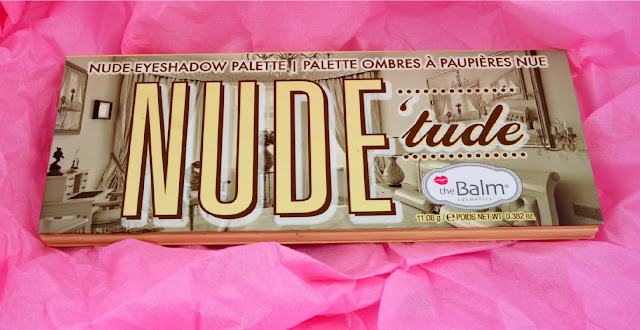 The Balm - Nude 'tude - nude eyeshadow palette - review - swatches