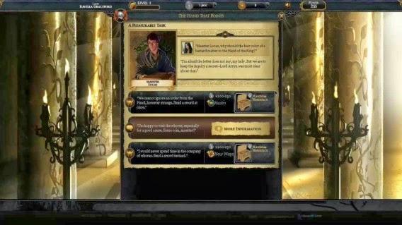 Game of thrones: Ascent para dispositivos móviles - Juego de Tronos en los siete reinos