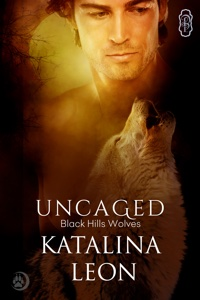 Uncaged book 25 Black Hills Wolves