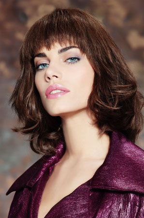 GRADUATED BOB HAIRSTYLES: SHORT CURLY HAIRSTYLES 2013: FUNKY AND STYLISH