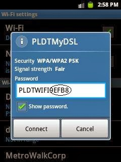 How to hack PLDTMyDSL WiFi Using WiFI Password Sniffer