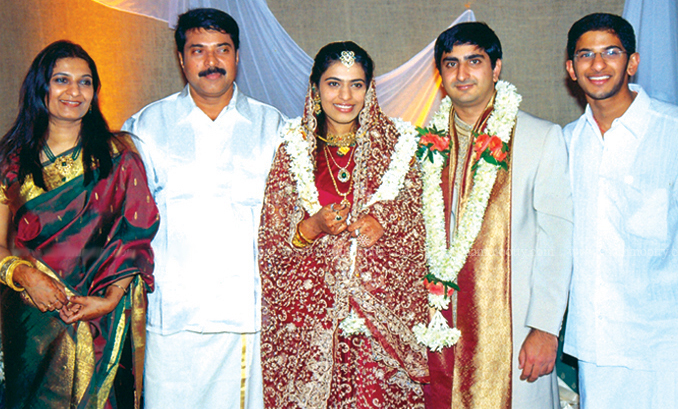 Mammootty's Daughter Wedding