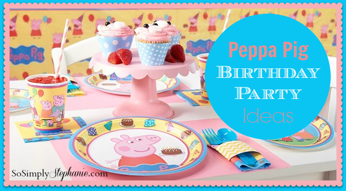 birthday party supplies and decorations