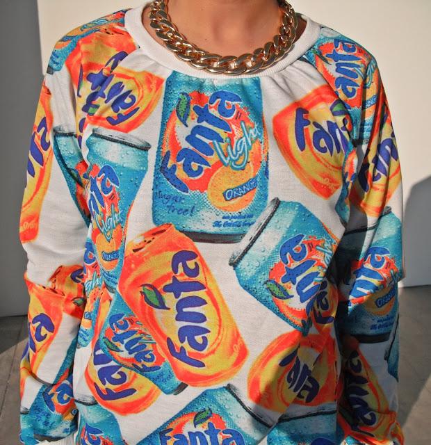 fanta sweatshirt