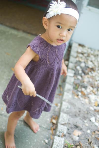 Clara Dress Knitting Pattern : 24-7-365: I knit stuff.
