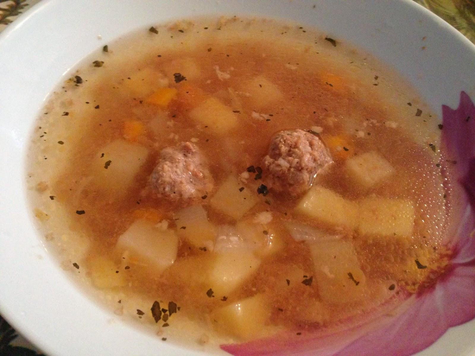Рисовый суп с фрикадельками рецепт пошагово с