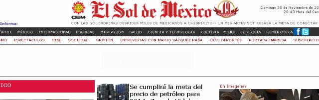 Los periódicos más importantes de México