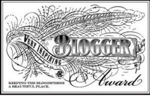 Inspirational Blogger Award