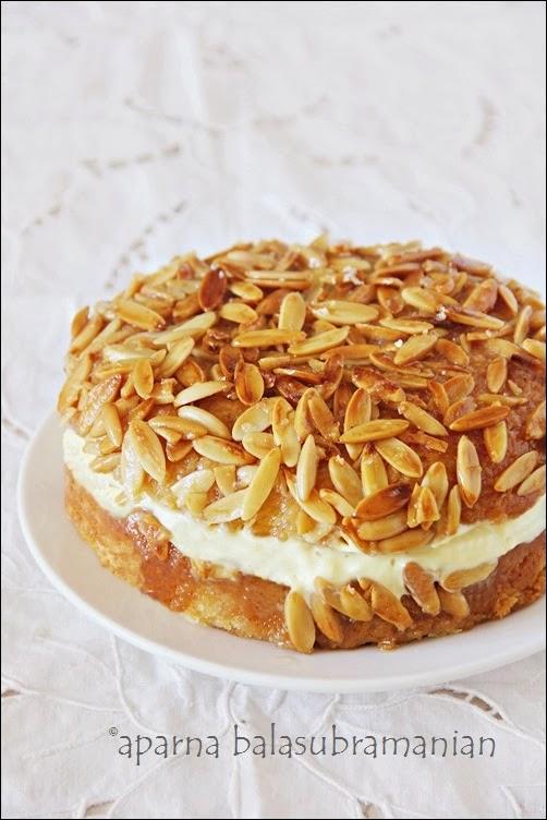 ... : We Knead To Bake #12 : Bienenstich Kuchen (German Bee Sting Cake