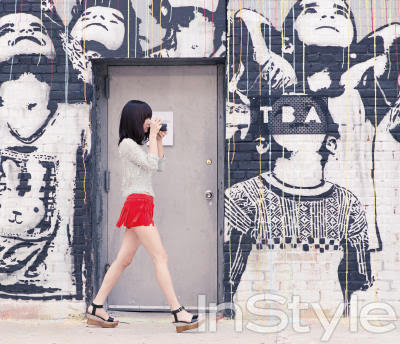 Bae Doo Na - InStyle Magazine October Issue 2013