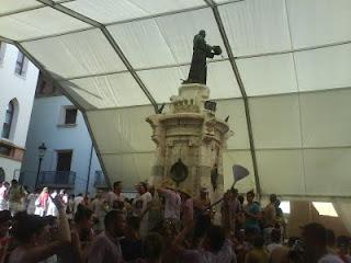 Fiestas Teruel 2011 la vaquilla el angel