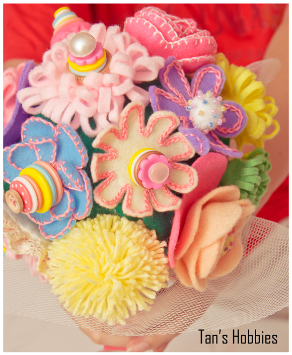 Flower Bouquet DIY ~ Tan\'s Hobbies