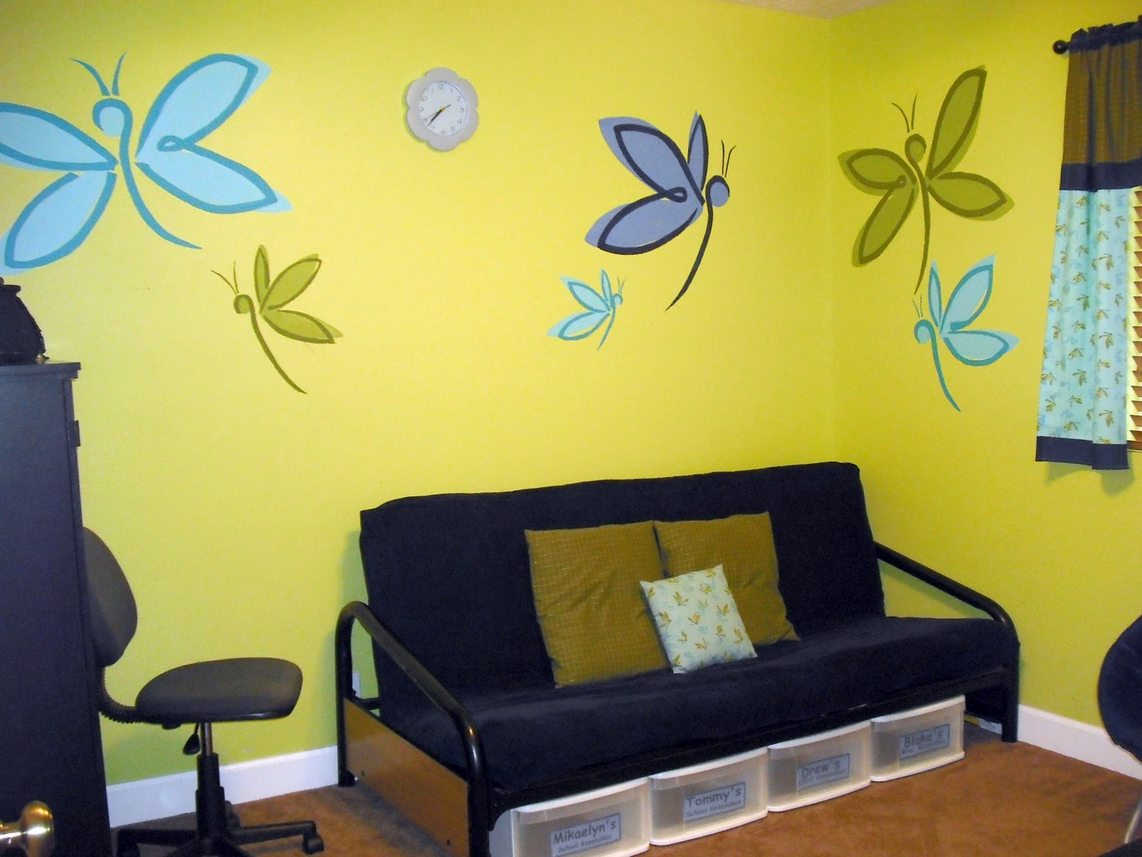 Awesome Easy Wall Mural Ideas Images - The Wall Art Decorations ...