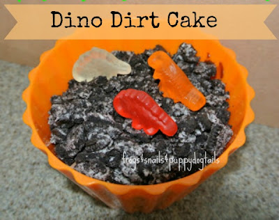 Dirt Cake(Aka oreo cake) For Earth Day