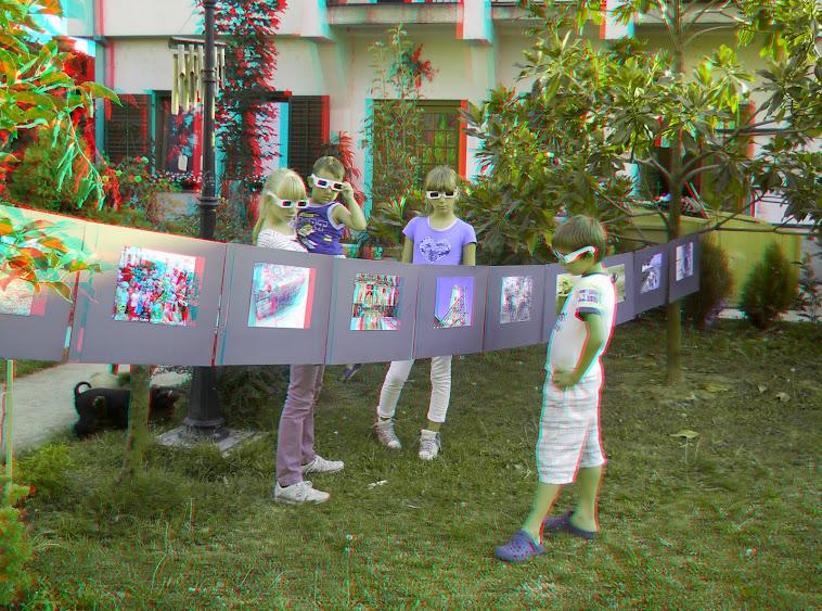 Pripreme za javnu promociju 3D na ulicama grada Šapca.