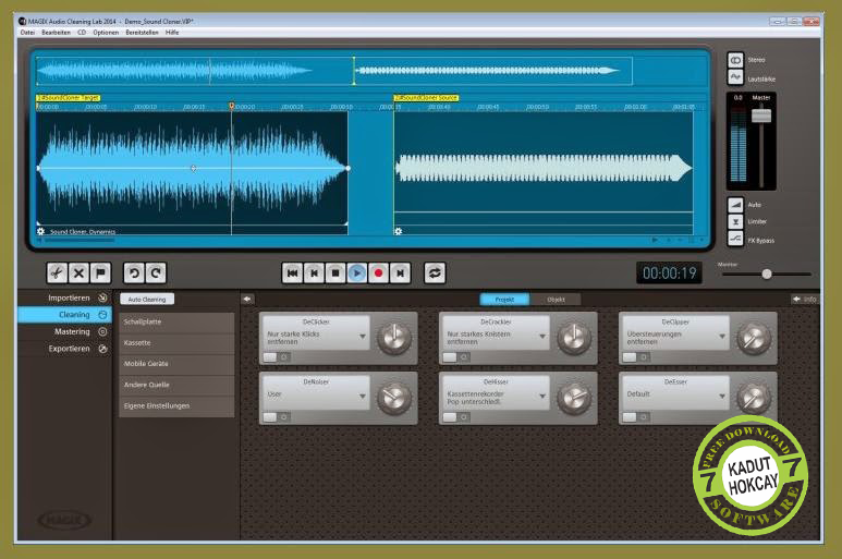 Magix Audio Cleaning Lab 2014 V.20.0.0.36 Full Version