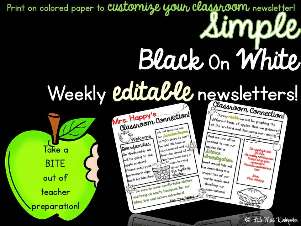 https://www.teacherspayteachers.com/Product/Editable-Weekly-Newsletter-TemplateEdit-Print-and-Go-1341008