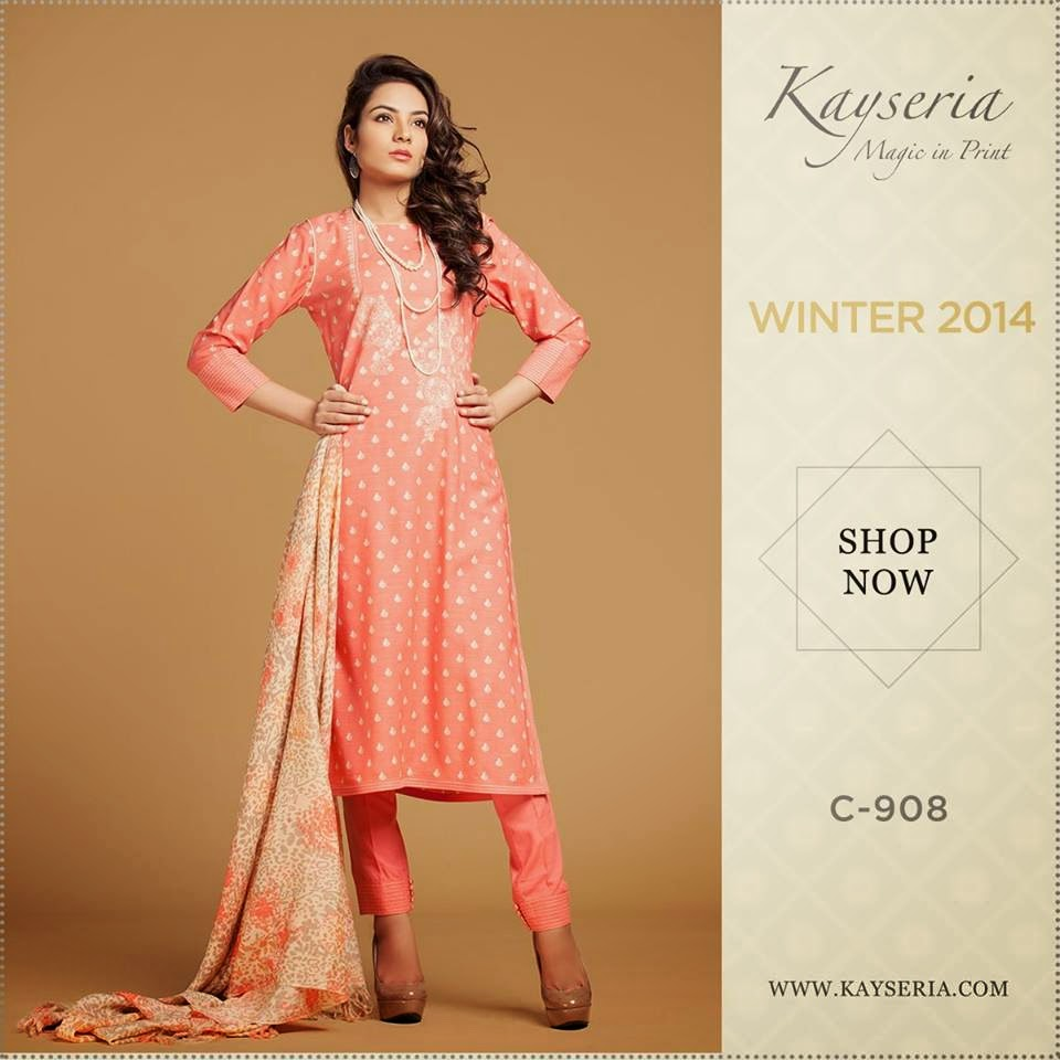 Kayseria Fall Winter Collection