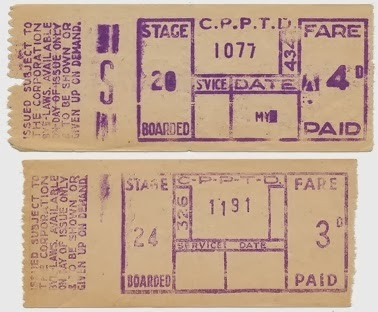 Corporation bus ticket