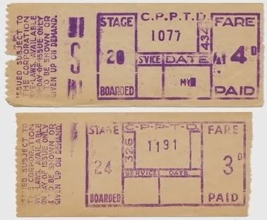 Corporation bus ticket