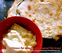 how to make homemade Chinese layered flat bread