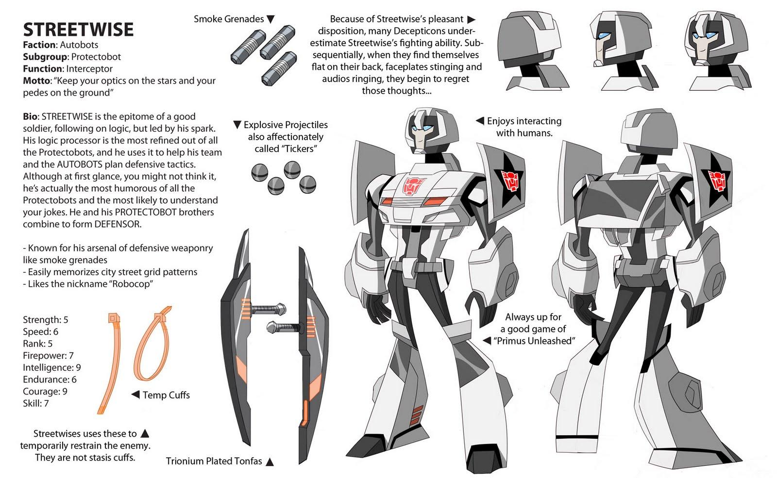 Dou Hong: Transformers Animated: Protectobots
