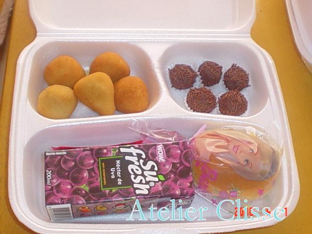 Well-known Atelier Clisse: Kit Lanche Barbie TT05