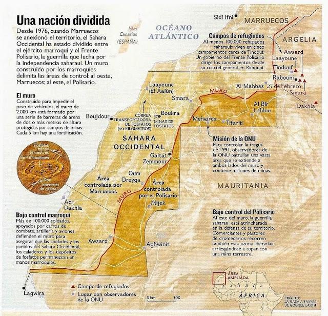 Madrid : origen y solución del problema del Sahara