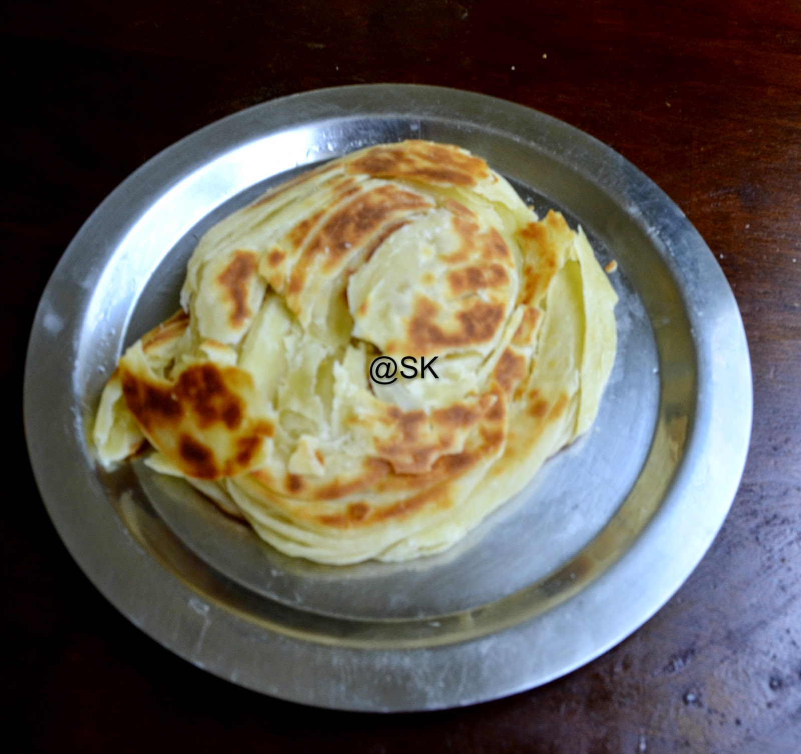 how to make parotta step by step