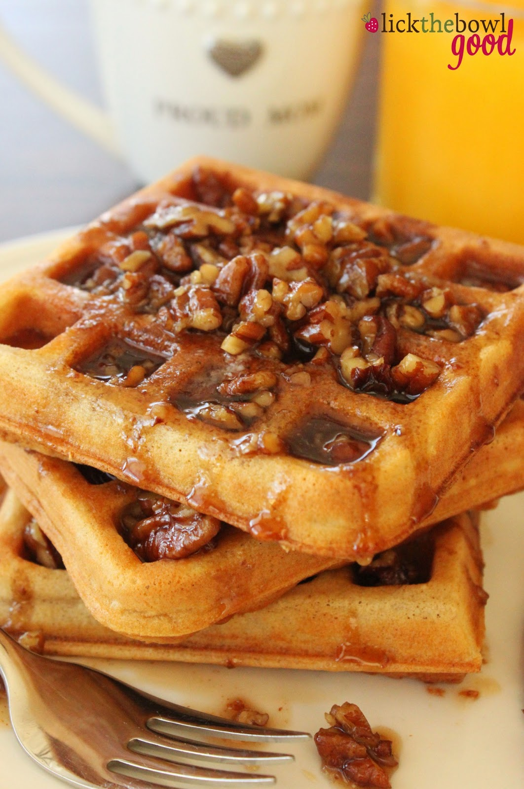 Lick The Bowl Good: Insanely Great Waffles and Easter Weekend