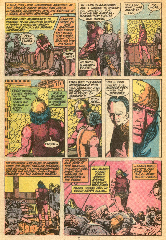 Conan the Barbarian (1970) Issue #20 #32 - English 3