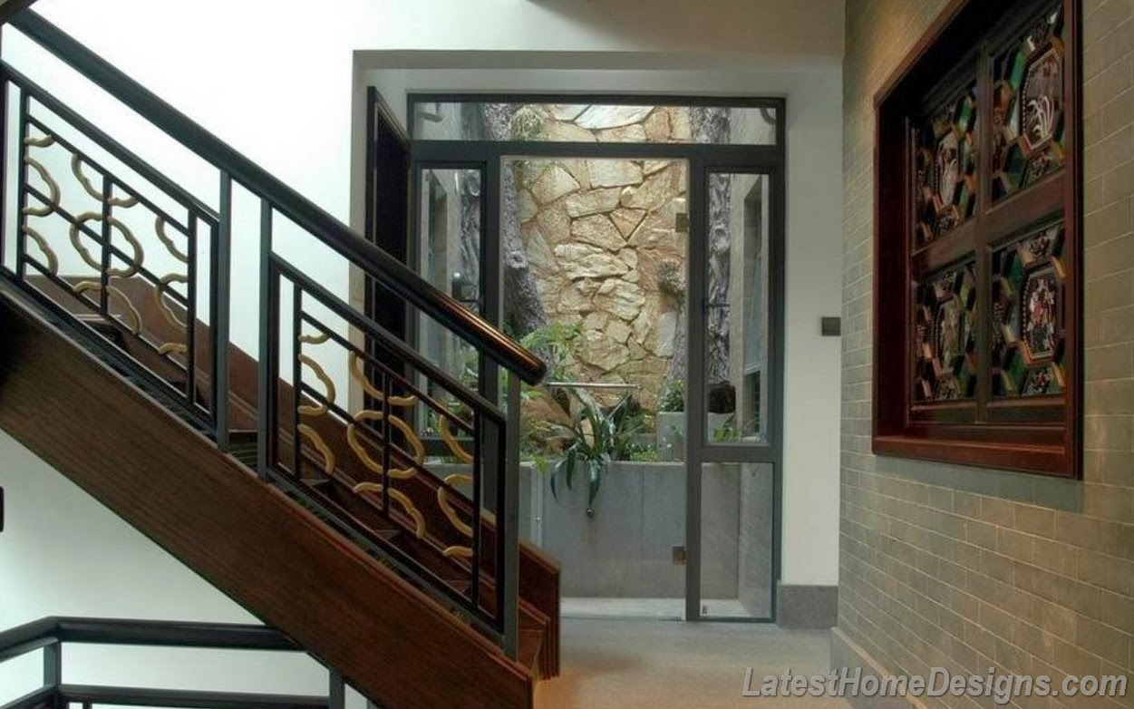 Image gallery iron stairs design - Home stair railing design ...