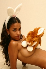 Sexy Bunny Polliana! Horny Easter 2012!