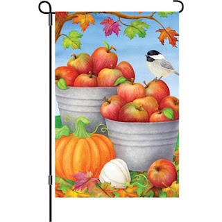 Autumn Orchard Garden Flag