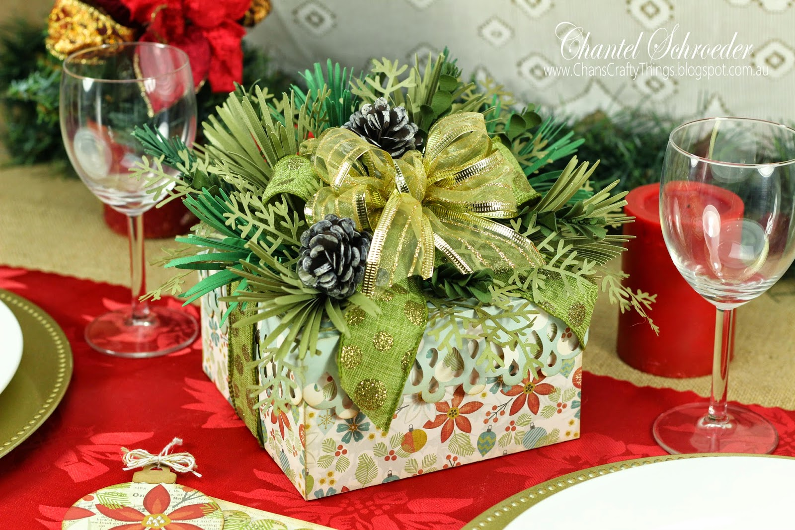 Wintergreen Gift Box Bouquet
