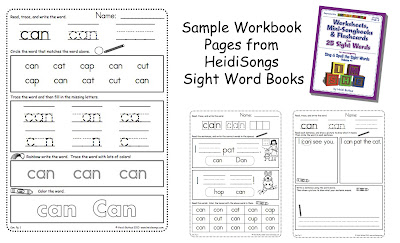 Kindergarten Homework - The EASY Way!   Heidi Songs