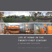 Cover of Life at Home in the Twenty-First Century, gray with several photos