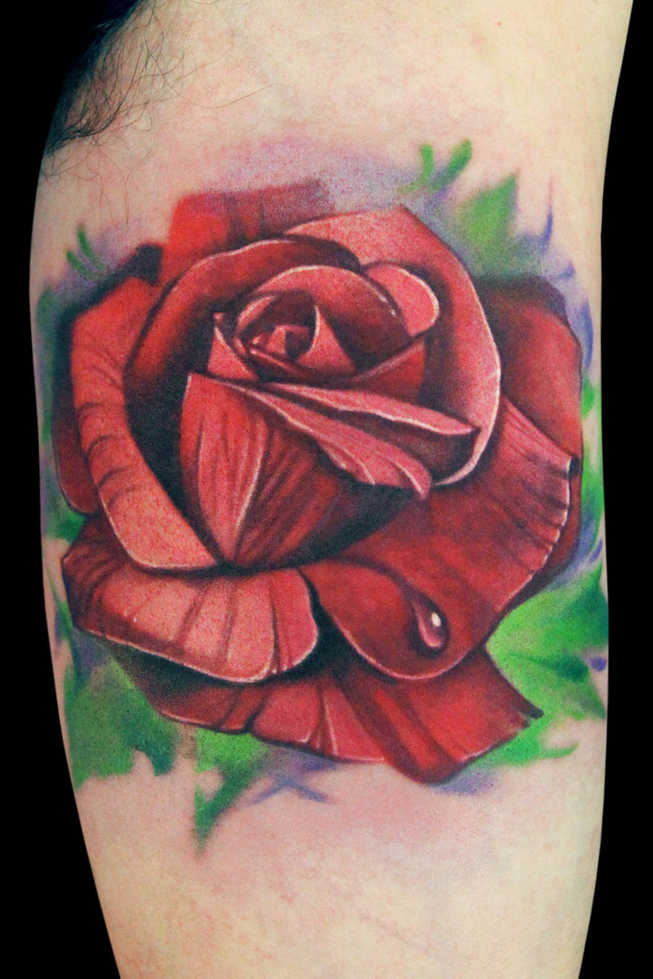 Forasteiro tattoo tattoo de rosas for Tattoo de flores