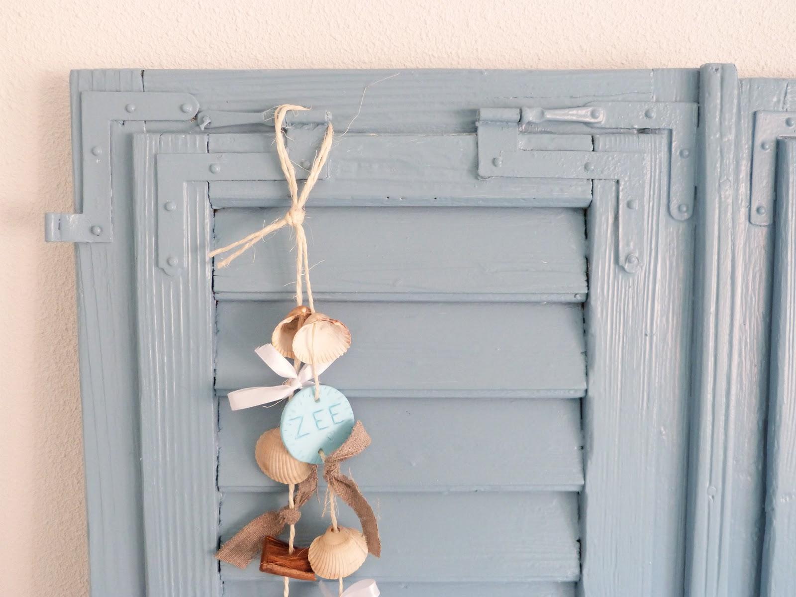 Het Brocante-Schelpenhuisje: Blauw