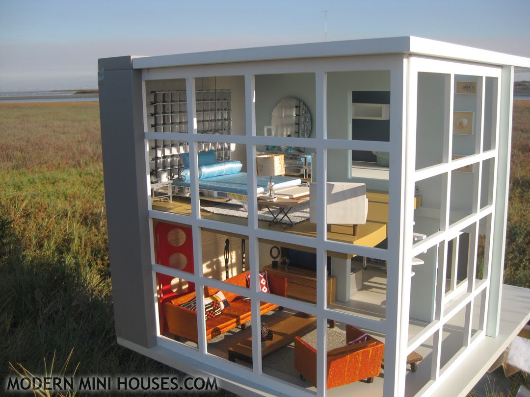 Modern mini houses for Mini mansions houses