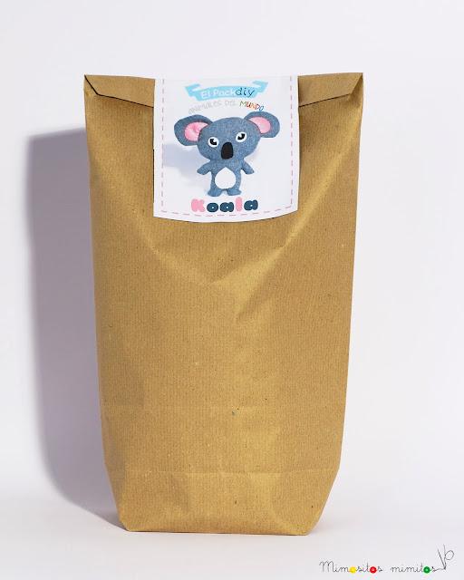 koala pack tela diy handmade manualidades házlo tú mismo australia fieltro kit