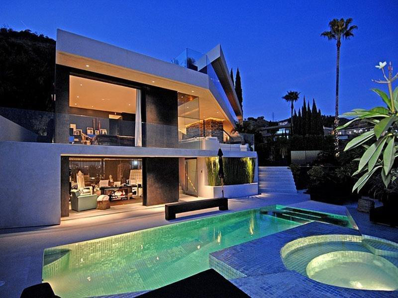 Loveisspeed the randolph duke house at hollywood for Modern homes hollywood hills