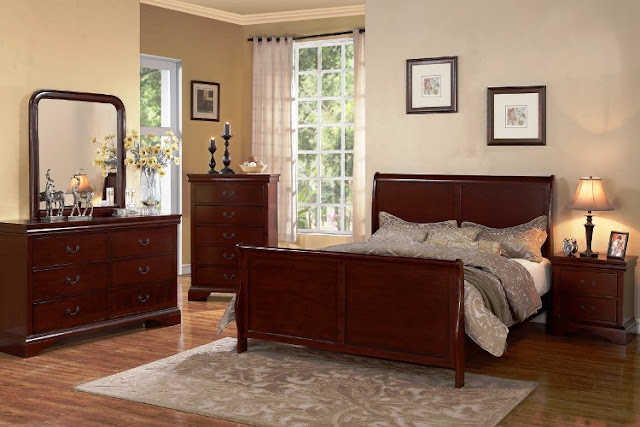 Light Cherry Wood Bedroom Furniture Sets Elegant Classic Design Ideas With Un