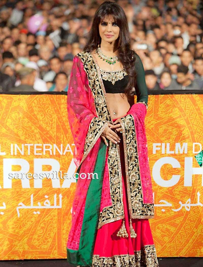 Priyanka Chopra Long Hairstyle