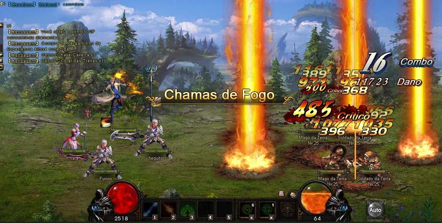 legend online batalha multiplayer