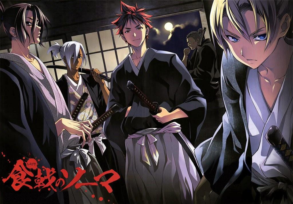 [ Info-Anime ] Adaptasi Manga Shokugeki No Souma Tayangkan Iklan Baru