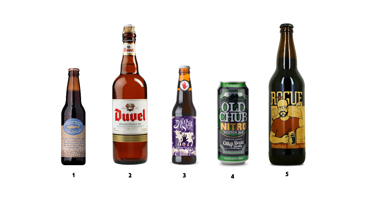 My Top 5 Favorite Beers This Winter; duvel; stout; dogfish head; rogue; milk stout; ale; beer; favorite; top beer lists;