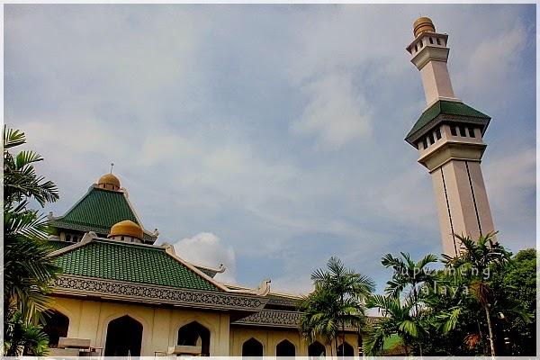 Supermeng Malaya Melaka 2014 08 Masjid Al Azim Melaka