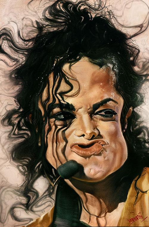 """""""Michael Jackson"""" por Daraf"""